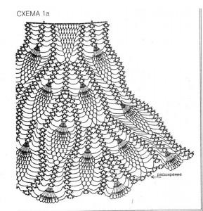 вязаные летние юбки 3