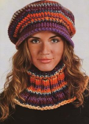Вязание крючком шапки: несколько идей.