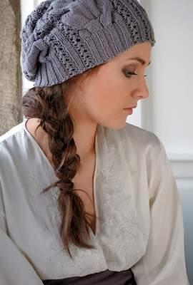 вязание шапок 1