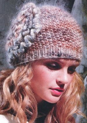 вязание шапок с описанием