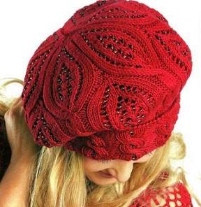 вязание шапок зимних