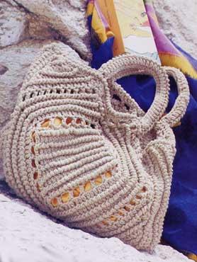 вязаные сумки крючком со схемами 2013