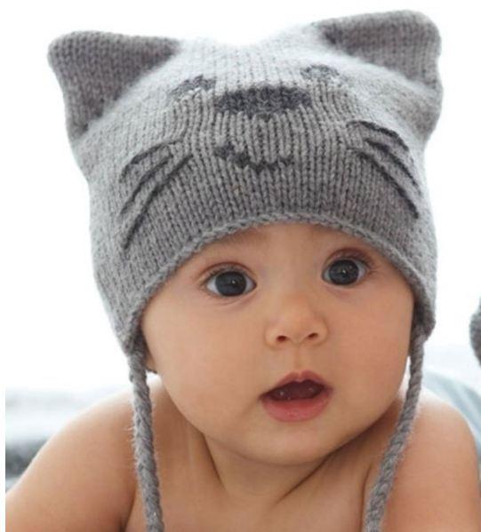 как вязать шапочки для детей