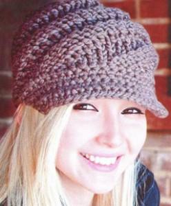 шапки вязаные спицами кепка