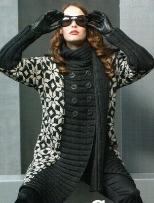 схемы вязания спицами женских