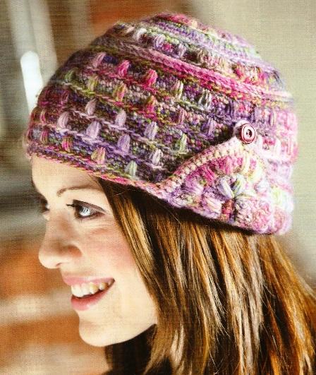 вязание крючком шапки женские схемы