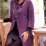 Вязание спицами кардиганы женские — 5 модных фасонов