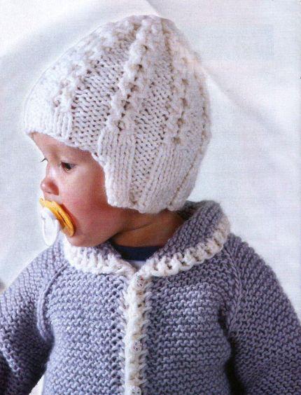вязать шапки для детей