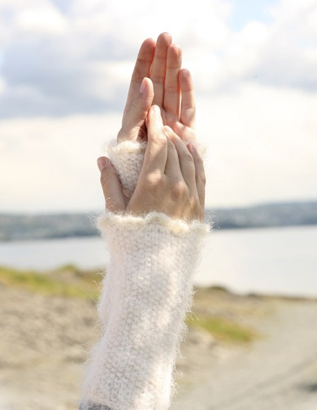 схема вязания перчаток без пальцев фото