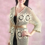 Вязание кардиганов крючком — схемы вязания