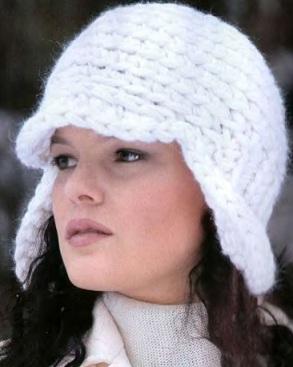 вязание крючком шапки для женщин