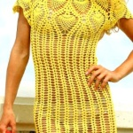 Вязанные платья фото моделей и описания вязания