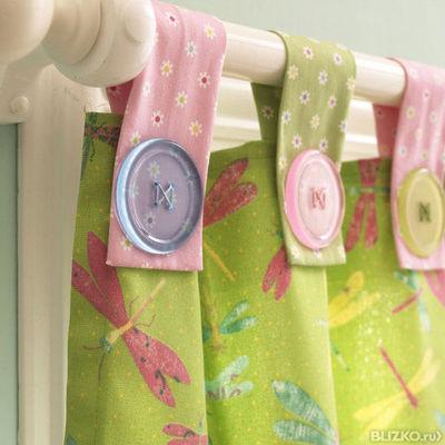 Как сшить шторы своими руками в детскую