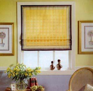 римская штора своими руками фото