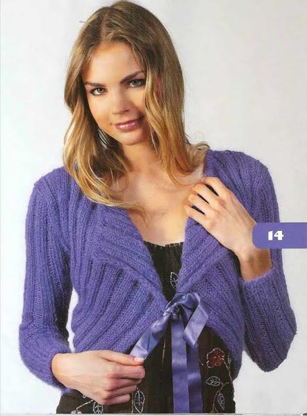 вязание для женщин болеро