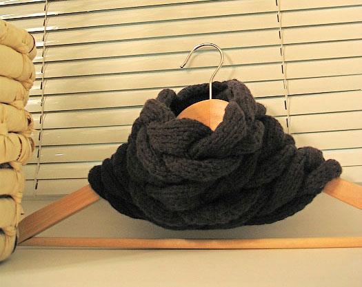 вязание шарф труба
