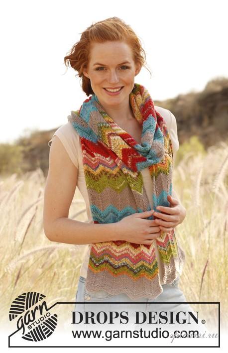 вязание шарфиков