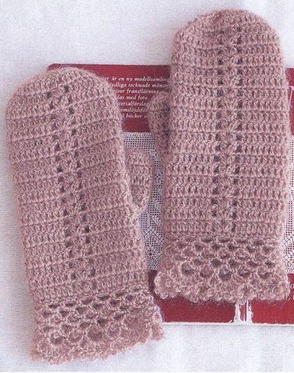 моделей вязания перчаток