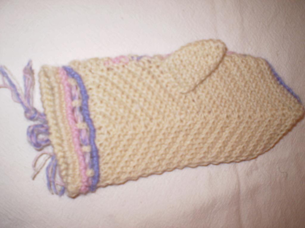 варежки крючком схемы вязания