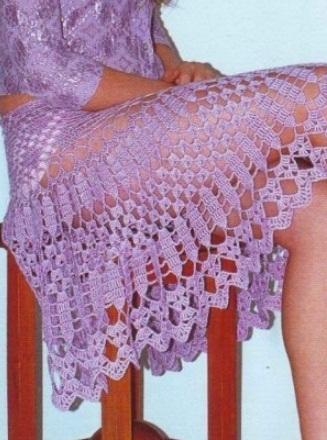 Смотрите: 5 идей юбок: вязание