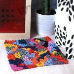 8 ковриков: вязаные коврики своими руками.