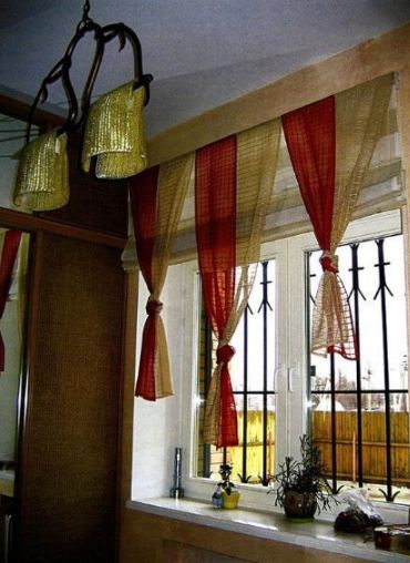 как самой сшить красивые шторы