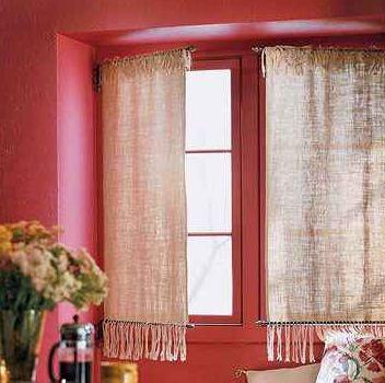 как сшить оригинальные шторы