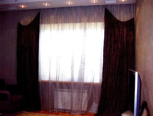 как сшить шторы выкройки