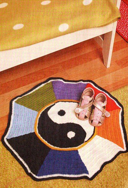 Японские коврики вязаные
