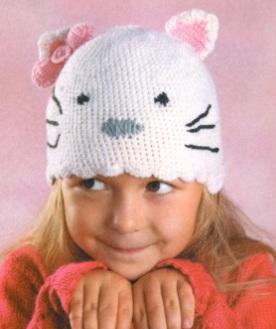Зимняя шапка для мальчика 3 года связать