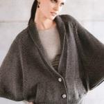 Вязаные пуловеры спицами и крючком