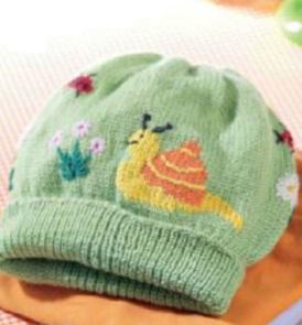 вязание спицами шапок для детей