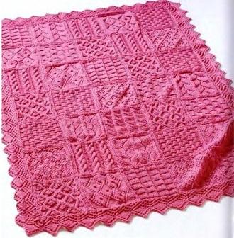 Одеяльце для новорожденного своими руками