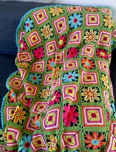 Одеяло из старых свитеров своими руками