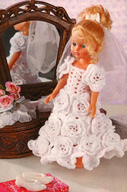 Вязание платья для
