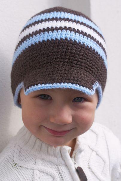 Вяжем кепку для малыша 2 года