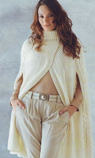 пальто вязаное спицами схемы