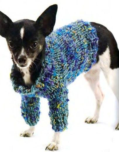 вязание для собак схемы 1
