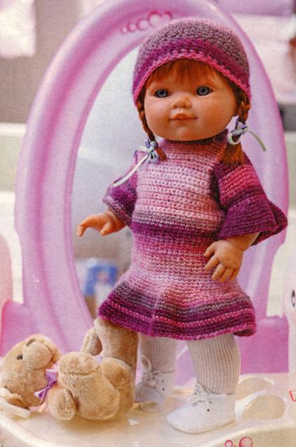 Кукла вязаная своими руками спицами