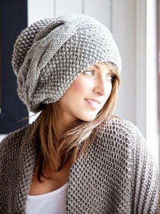 шапки, шарфы | Вязание спицами