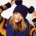 Вязаные шапки спицами для женщин: схемы с описанием