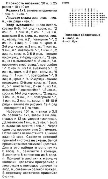 vjazanyj-beret-spicami-dlja-devochki-2