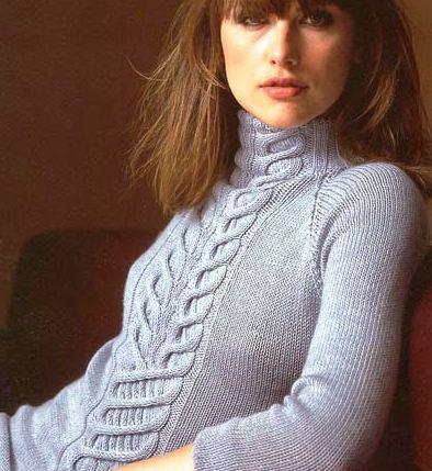 свитера женские вязание -