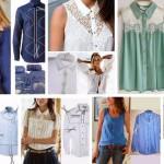 7 идей переделки мужских рубашек в женские кофточки