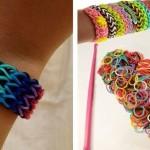 12 стильных идей, как сделать браслет из резинок
