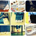 Как преобразить джинсы, шорты и юбку?