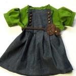 Идея платьица для девочки