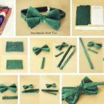 Как сделать галстук-бабочку своими руками?