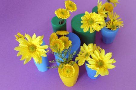 ваза из шариков