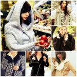 Модные идеи вязаных курток со схемами вязания